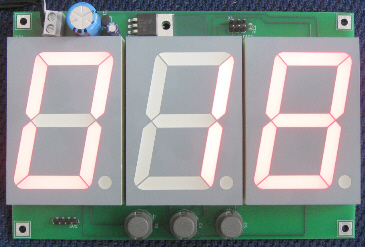 Stoppuhr mit grossem LED-Display