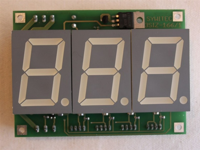 Zähler mit grossem LED-Display